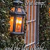 The Commandment Is A Lamp