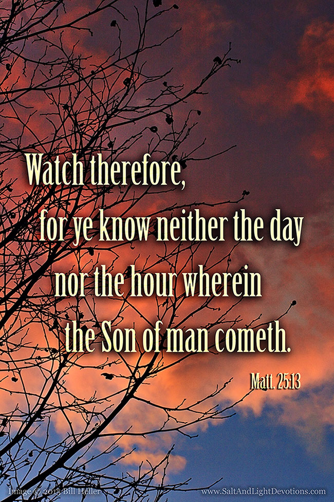Be Ever Watchful