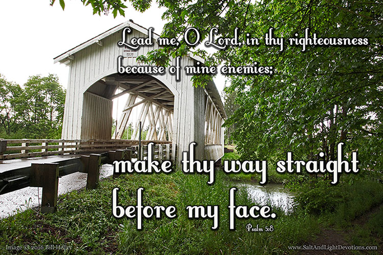 Make Thy Way Straight