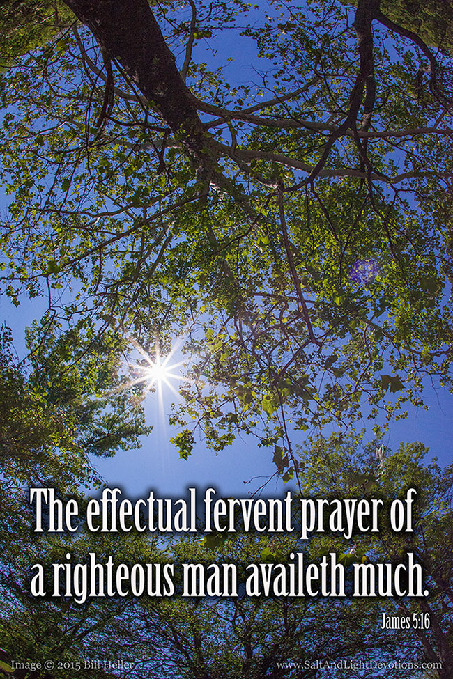 A Fervent Prayer