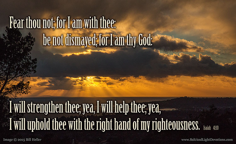Fear Not I Will Help Thee
