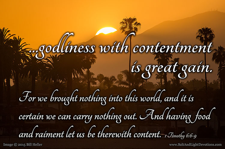 On Being Content