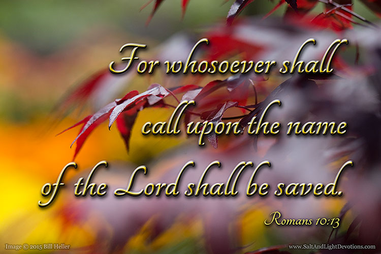 Call Upon His Name