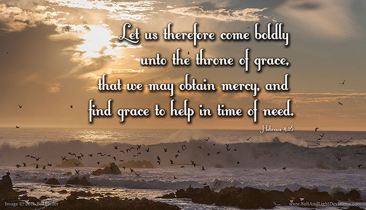 Mercy Grace And Help In Time Of Need