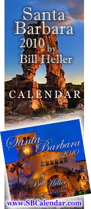 The Santa Barbara Calendar by Bill Heller